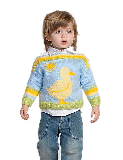 sweater bebe pato