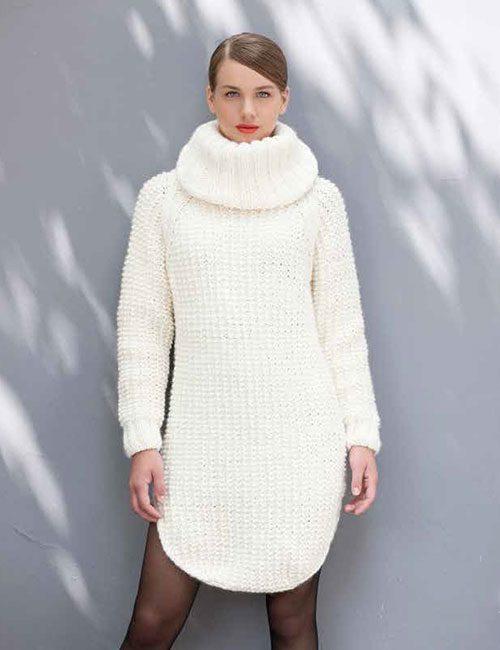 gran sweater blanco