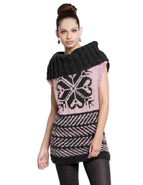 sweater jakard estrella a palillo