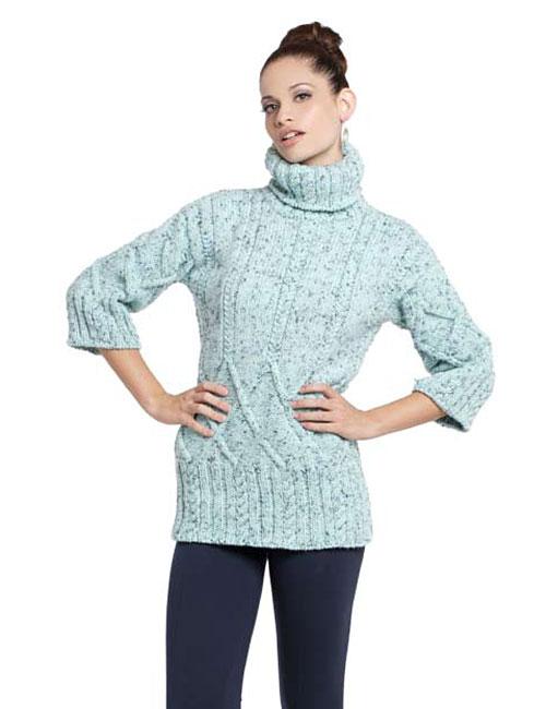 sweater punto palillos