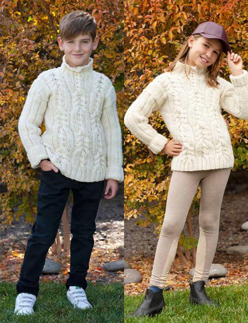 sweater irlandés unisex