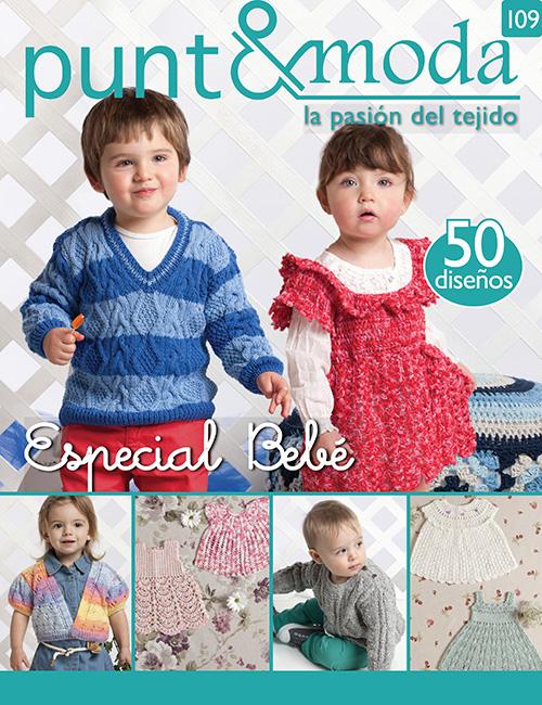 Revista Punto y Moda N°109 especial bebé