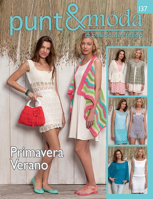 Revista Punto y Moda N°137 Primavera Verano