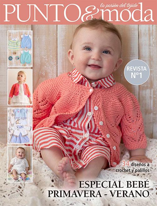Revista Punto y Moda Bebé verano
