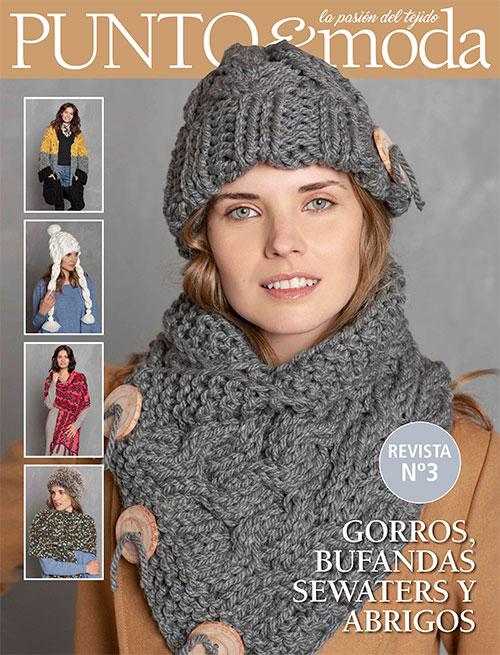 revista punto y moda adultos invierno