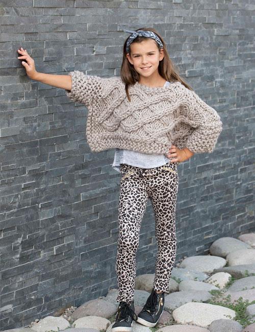 revista punto y moda especial niños otoño invierno