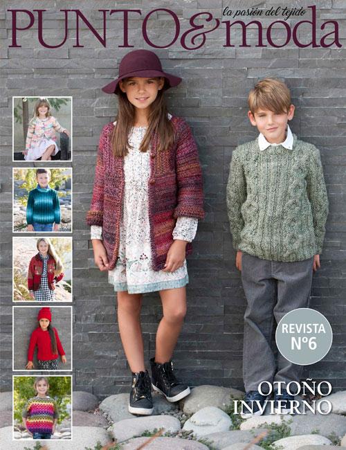 revista punto y moda niños otoño invierno