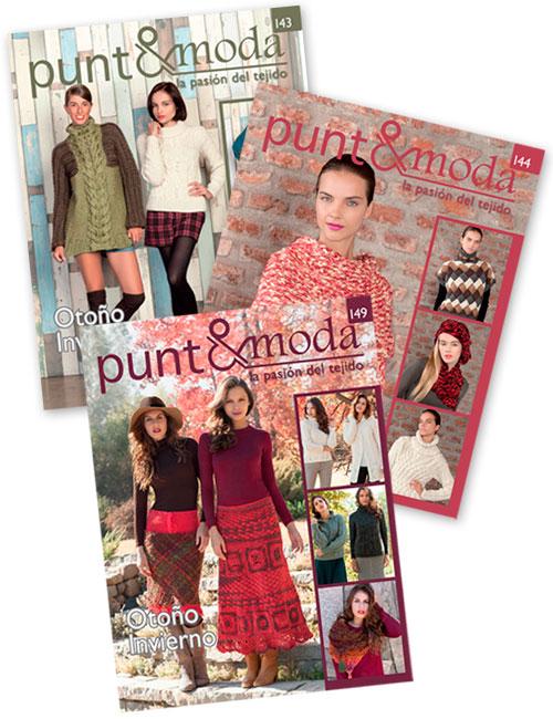 revistas mujer punto y moda