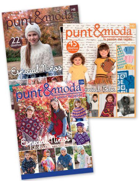 revistas niños punto y moda