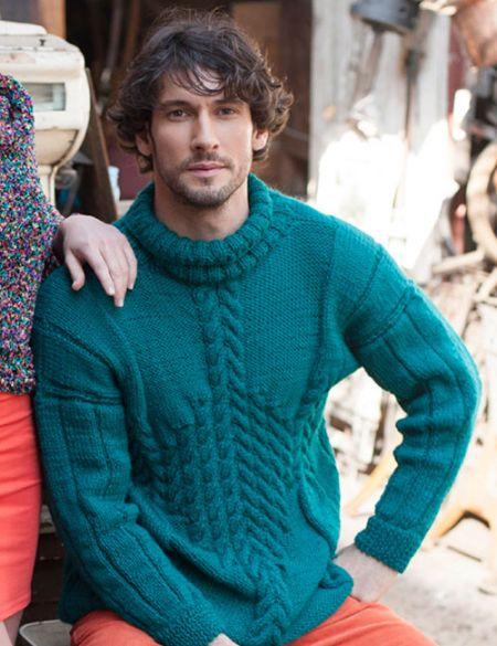 Patrón de tejido sweater