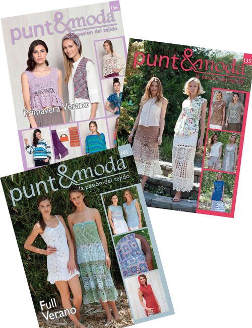 Pack 3 revistas Verano Punto y Moda