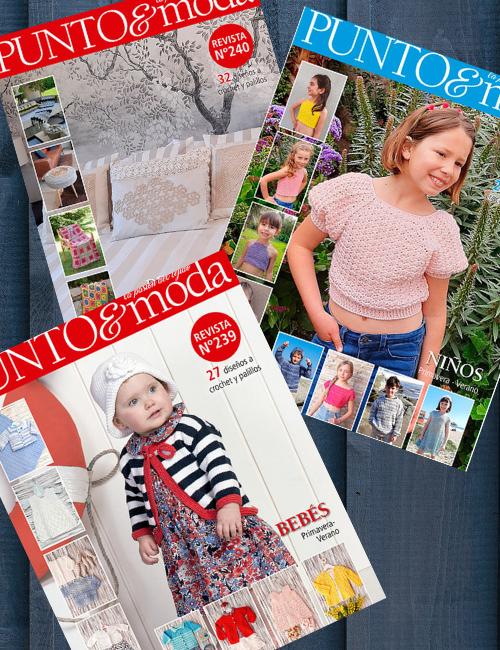 pack revistas Punto y Moda