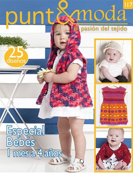 Revista Punto y Moda N 117 especial bebes
