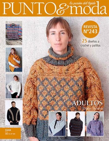 Revista Punto y Moda 243 Adultos Otoño Invierno