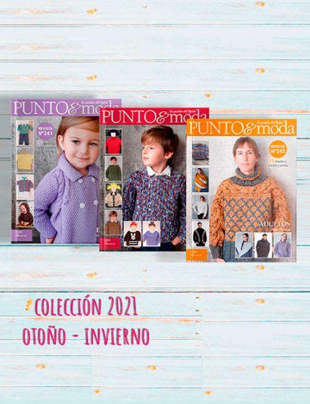 pack 3 revistas colección otoño invierno