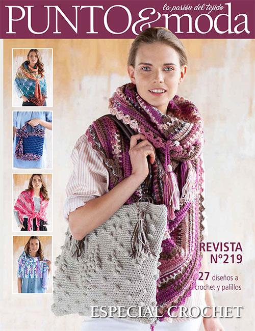 Revista Punto y Moda 219 especial crochet