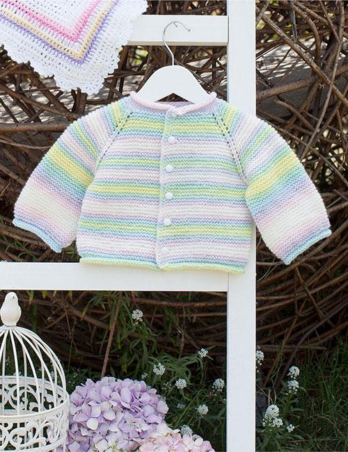 chaleco bebe multicolor