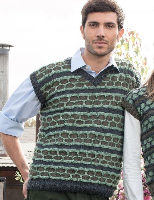 sweater sin mangas